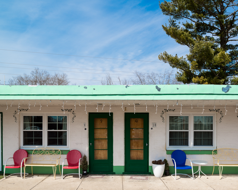 Rooms 9 and 10, Xenia, Ohio Motel, 2014