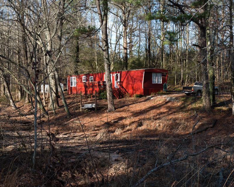 Red Home, Georgia Woods, 2014
